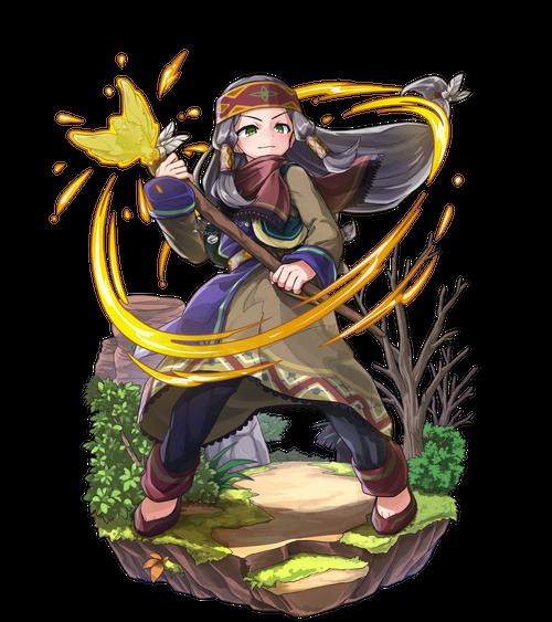 鷹杖の光術士カザニ