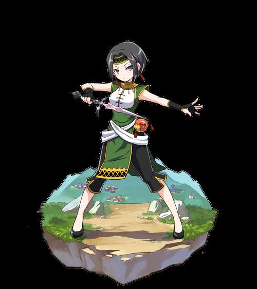 風の戦闘狂ナキ