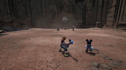 KH3 Organization XIII Battle Strategy Riku Mickey