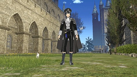 Male Byleth Officer's Academy Outfit