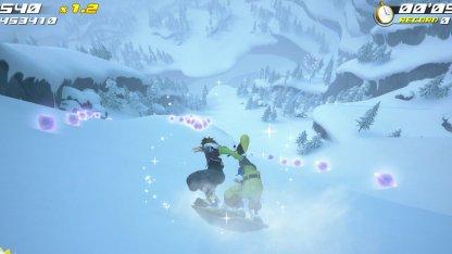 Snow Sliding Mini Game - How To Get High Score Tips & Tricks