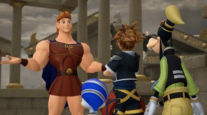 Kingdom Hearts 3 Olympus Story Guide & World Walkthrough