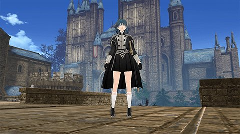 Female Byleth Officer's Academy Outfit