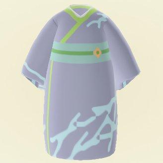 Dark Grey Kimono