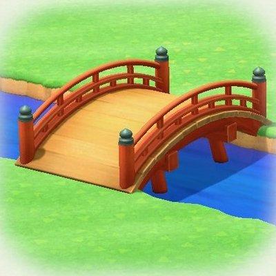 Red zen bridge