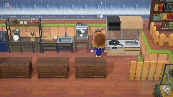 Animal Crossing Cafe Design Ideas Outdoor Cafe Guide Acnh