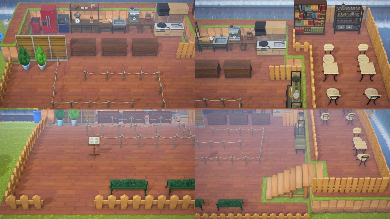Acnh Cafe Design Ideas Outdoor Cafe Guide Animal Crossing Gamewith