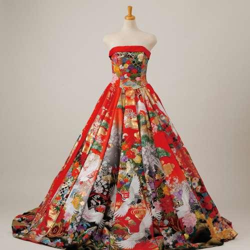 キモノドレス