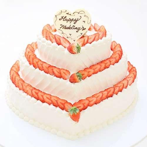 GAMOS 生ケーキ ハート型
