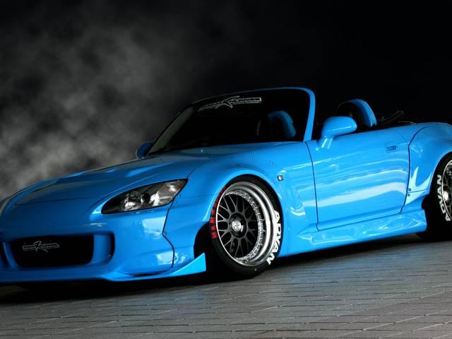S2000カスタムカーカタログ|おすすめのパーツと人気のホイール、サスペンション、マフラーとは?