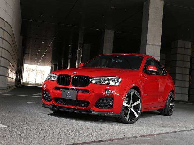 選ぶならコレ!F26型BMWのX4シリーズにおすすめのエアロパーツ特集