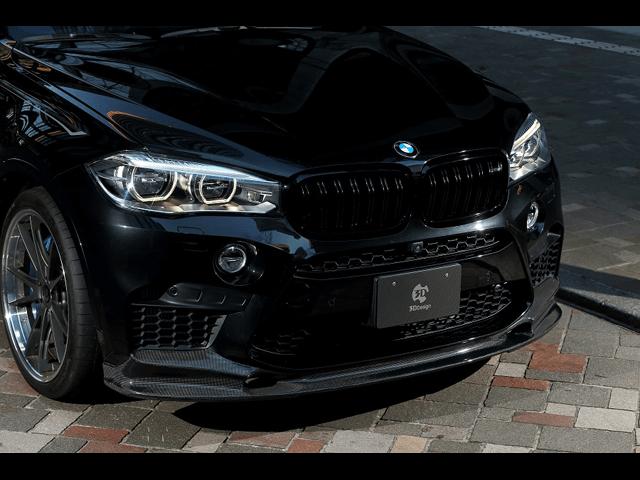 高性能だからこそスポーティに仕上げる!BMW X6M用エアロパーツ特集!