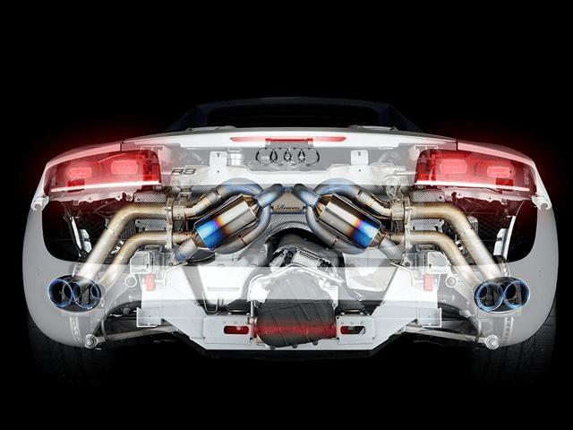 モタガレおすすめ!Audi R8 Spyder用マフラー特集!