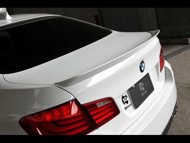 BMWの5series(F10/F11)リアスポイラー特集!