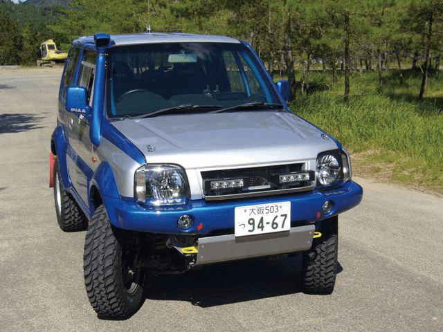 JB43型ジムニーシエラ用おすすめ!吸気系パーツ2選!