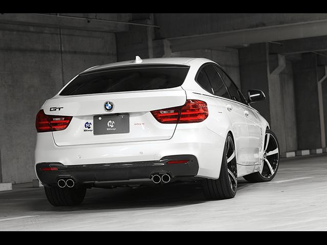 BMW3シリーズ(F30/F31/F34)リアディフューザー特集