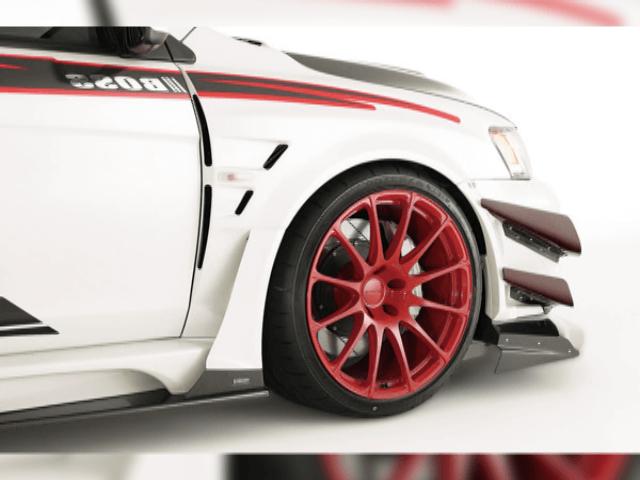 ランサーエボ10のスタイリングを強調するおすすめフェンダー特集!