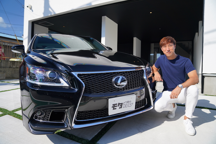 速い男達はレクサスLSに乗る!?GTドライバー石浦宏明選手の愛車紹介!