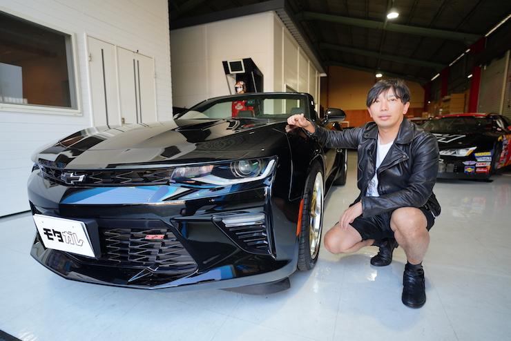 日本に1台しか無いカマロ!?NASCARドライバー古賀選手の愛車売ります!!