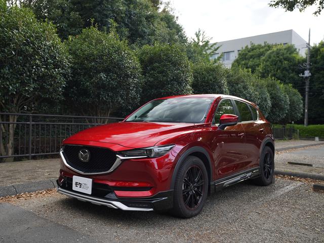 フルエアロ、低走行!!走りが楽しいSUV、KF型CX-5の中古車がモタガレで買えます!