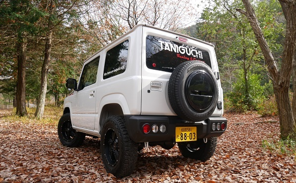 Make your new Jimny shine with these awesome goodies from Off-Road Service Taniguchi!