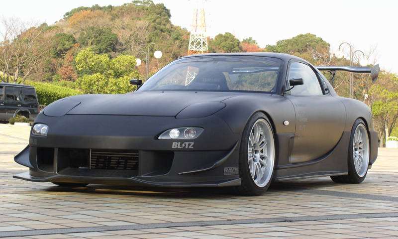 The best custom parts for the Mazda RX-7 FD3S!