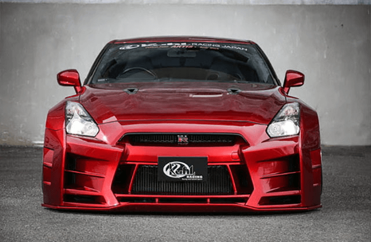 Nissan GT-R R35 comprehensive front bumper overview