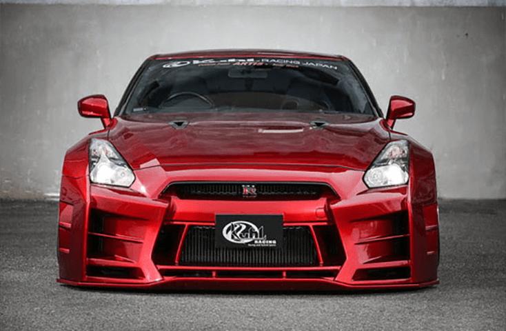 Nissan GT-R R35 comprehensive front bumper overview