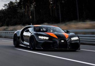 最高時速は490km/h!ブガッティ・シロン スーパースポーツ300+がバケモノすぎる!!