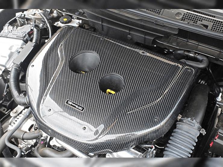 ガレージベリーDJデミオエンジンフードカバー