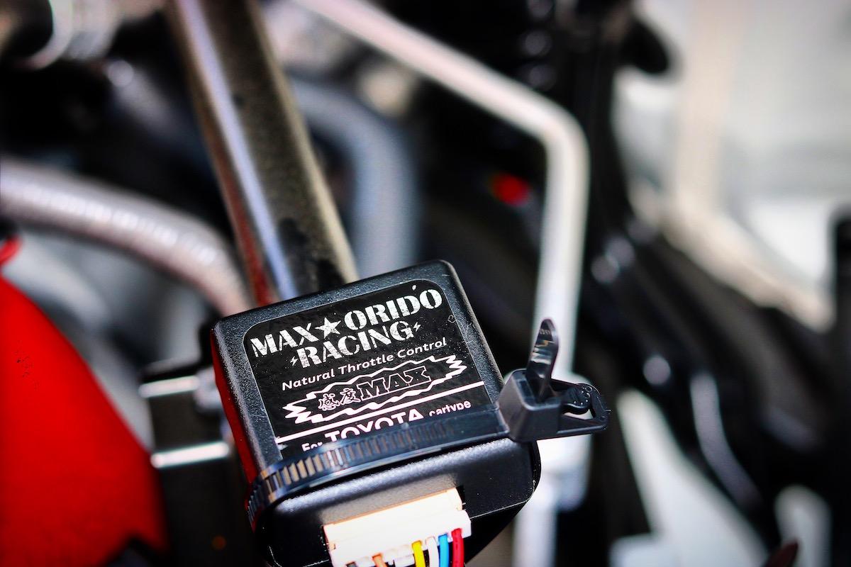 織戸学 MAX orido racing マックス織戸レーシング 感度MAX 電子制御スロットル 電スロ スロットルコントローラー スロコン 86 BRZ スバル トヨタ カスタム