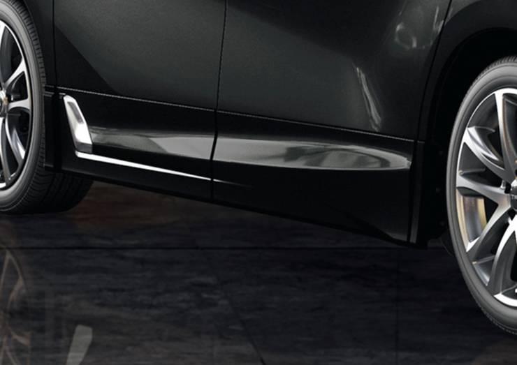 新型30後期アルファード カスタム エアロパーツ ドレスアップ TRD エアログレード サイドスカート