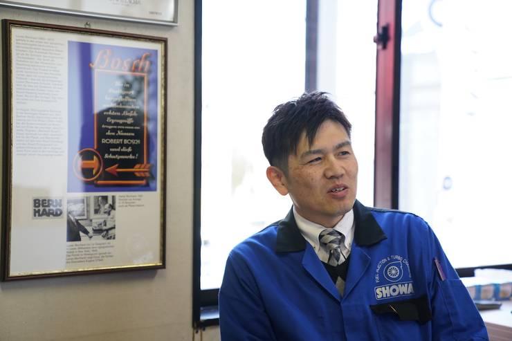 代表取締役川上裕之氏