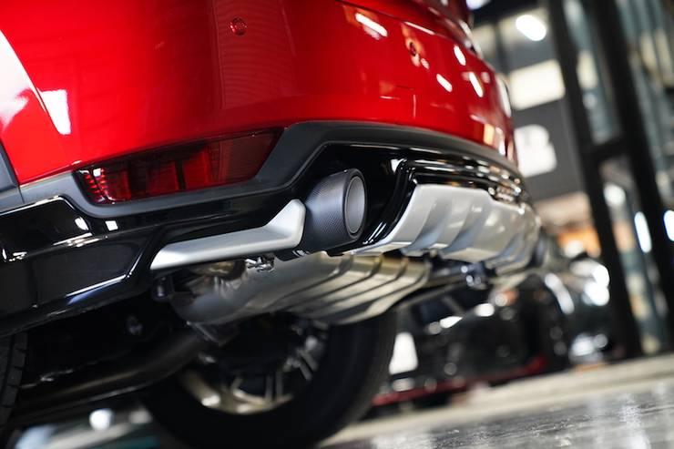 ドライカーボンマフラーカッター mazda マツダ CX-5