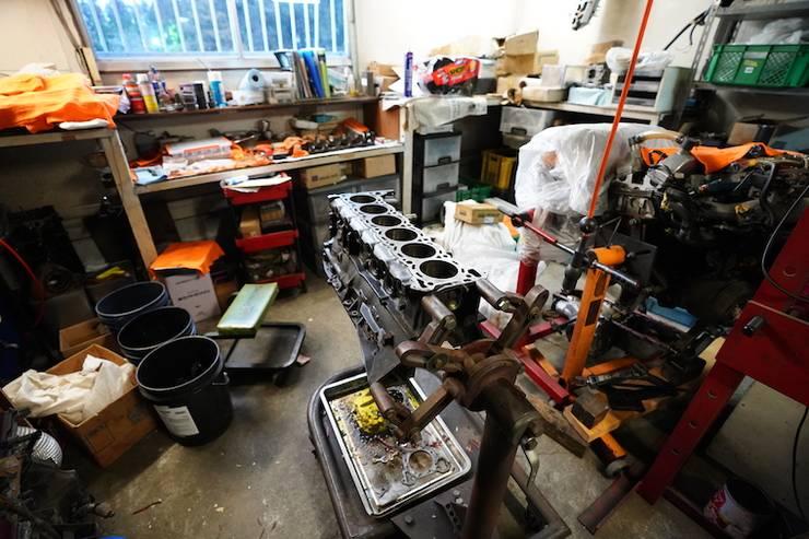 エンジン加工室