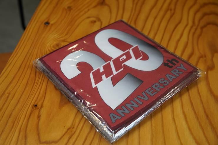 20周年記念ハンドタオル