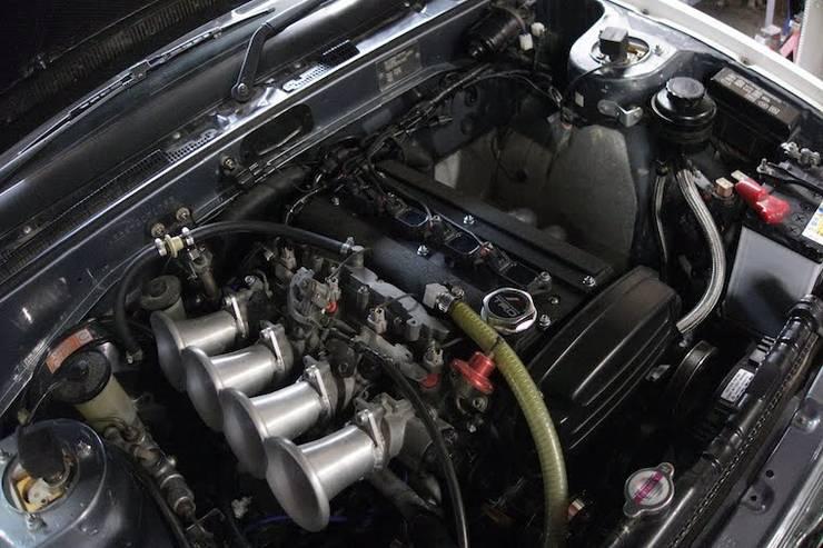テックアートAE86エンジン
