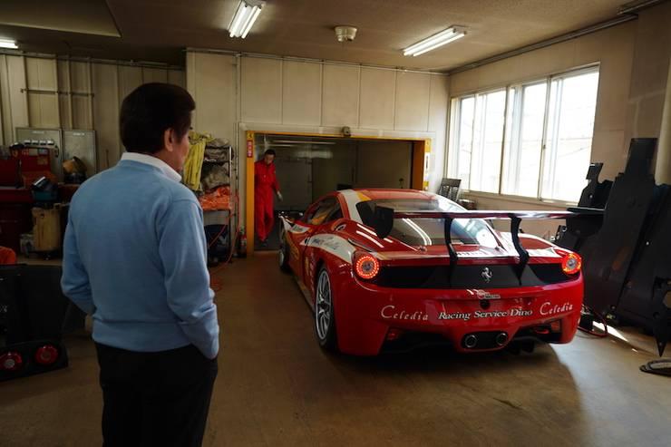 フェラーリ458チャレンジEVO