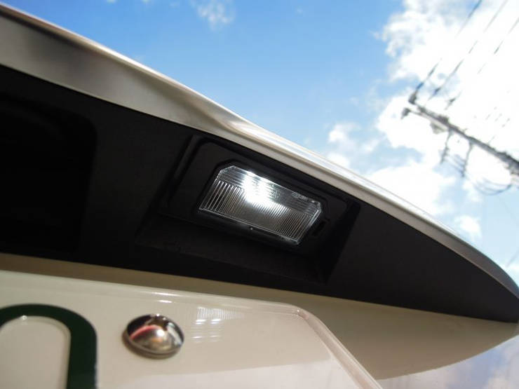 TB LED ライセンスバルブ for フィアット500X