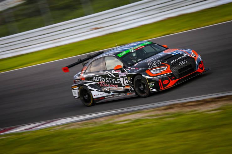 ピレリ・スーパー耐久シリーズ2018 Audi Team DreamDrive Noah アウディ チーム ドリームドライブ ノア m-1 CARFACTORY RS3 LMS