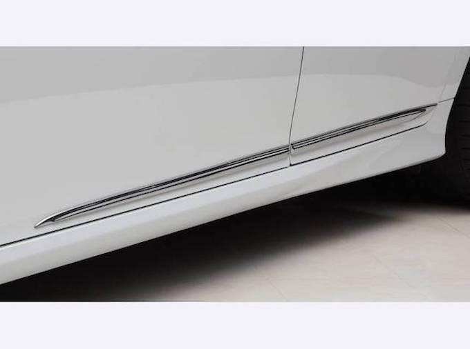 4代目レクサス GS エアロパーツ ドレスアップ カスタム LX-MODE サイドガーニッシュ