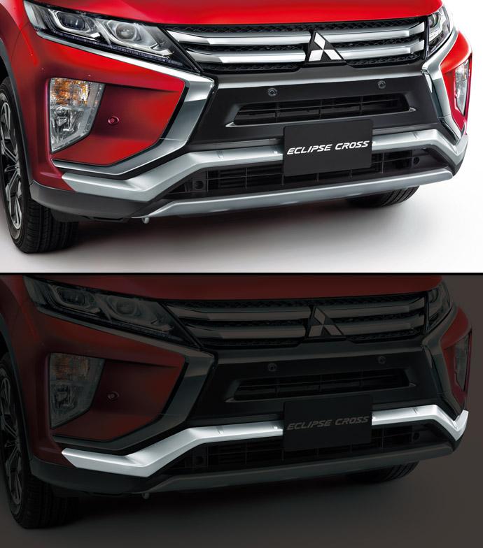 三菱自動車 フロントバンパーガーニッシュ GK1W エクリプスクロス エアロパーツ