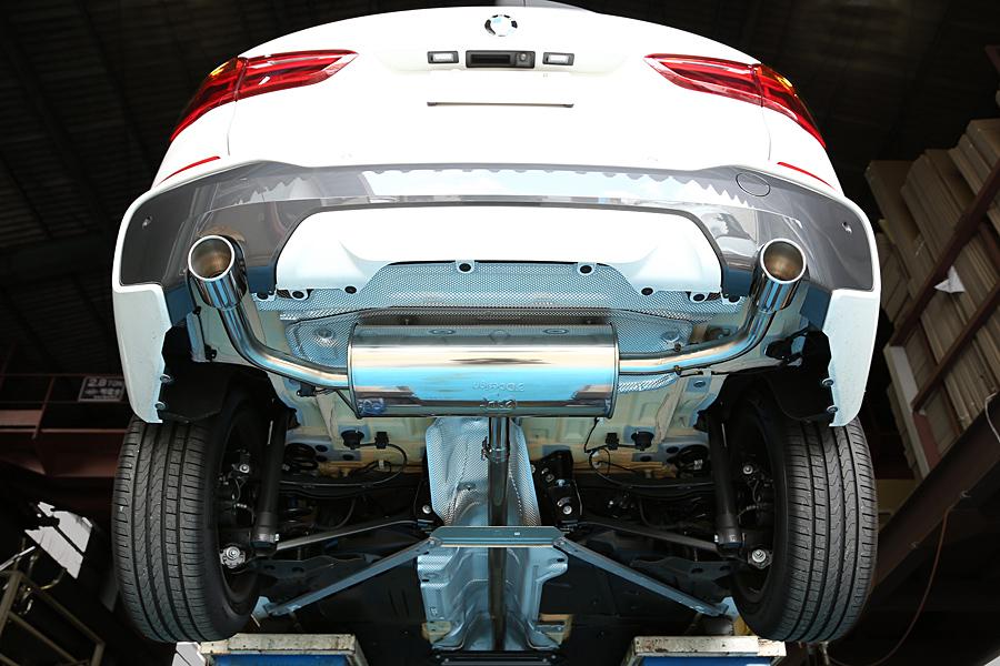3D Design | ステンレスマフラー BMW X1 社外 カスタムパーツ
