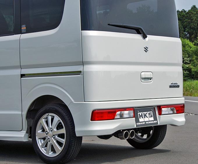 3代目三菱 タウンボックス カスタム マフラー 社外 流用 HKS