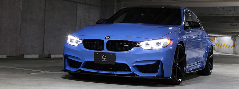 5代目BMW M3(F80) カスタム 3ddesign