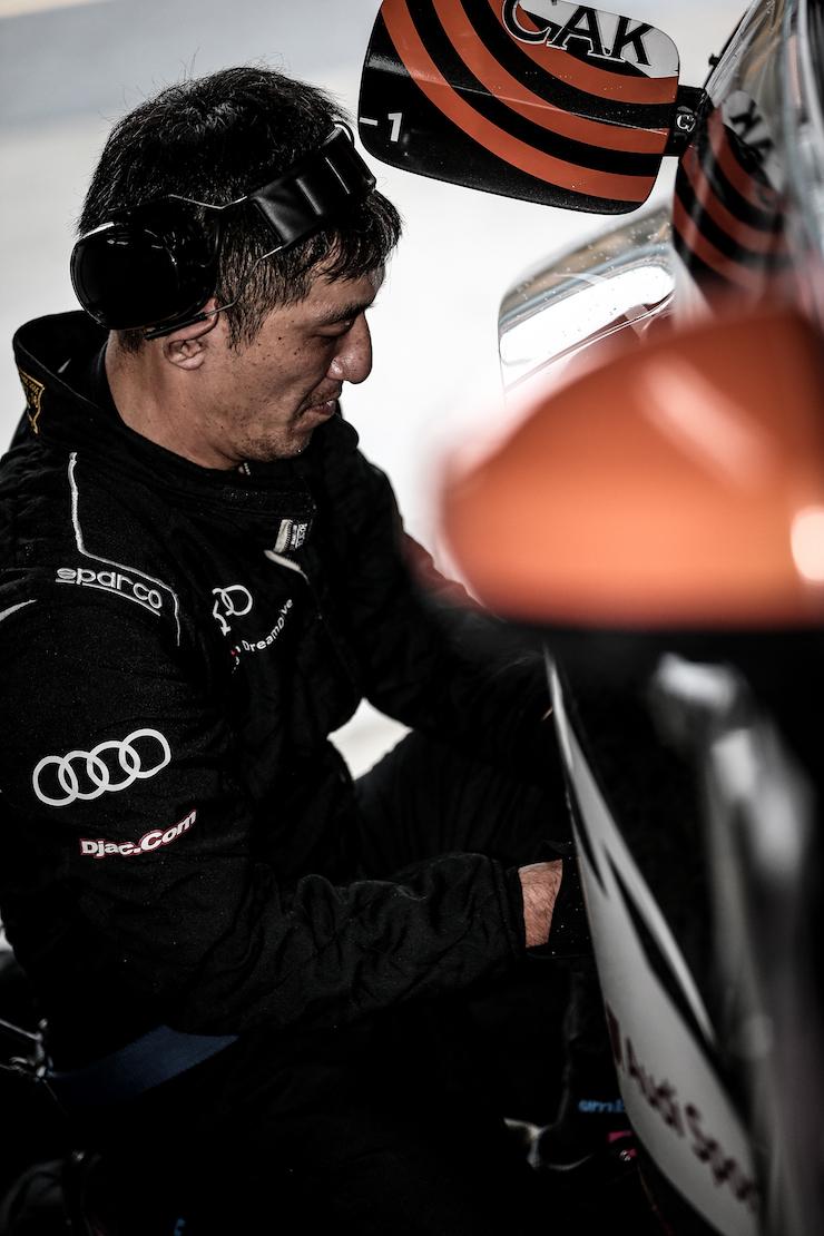 Audi Team DreamDrive Noah アウディチームドリームドライブノア LMS RS3