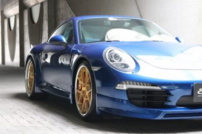 ポルシェ porsche 911 991 カスタム エアロパーツ エウル ドレスアップ サイドステップ