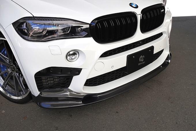 3代目X5(F15) BMW エアロパーツ 3DDesgin フロントリップスポイラー