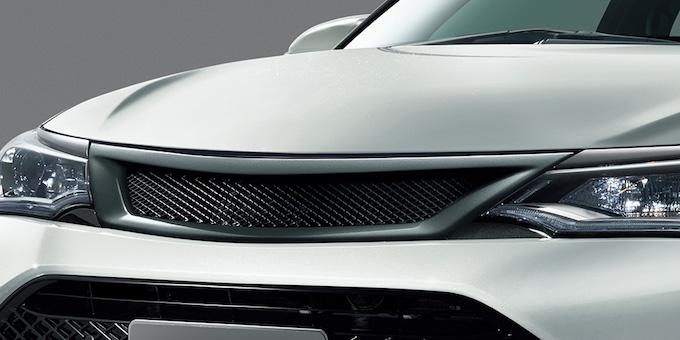 トヨタ カローラアクシオ フロントグリル TRD ドレスアップ