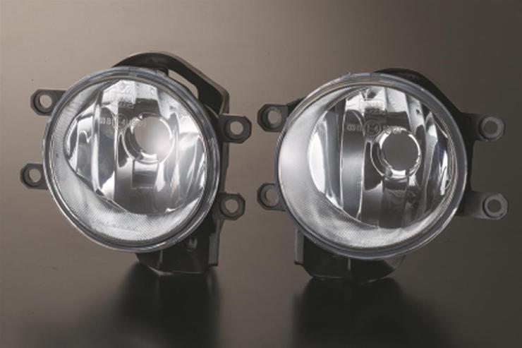 ヴァレンティ Valenti フォグランプレンズキット LED H16 補修 交換 イエロー